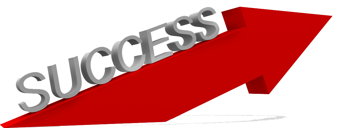 Success transparent red. Png images all clipart