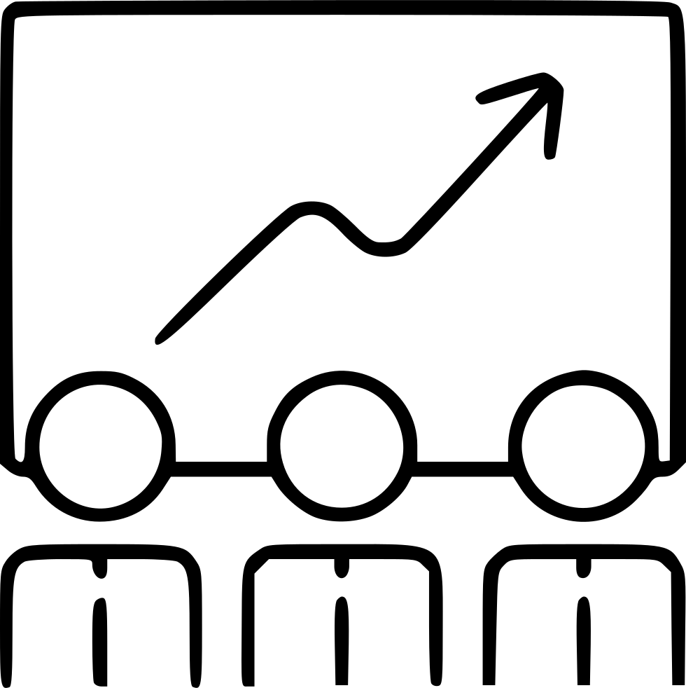 Success drawing ladder. Icon for free