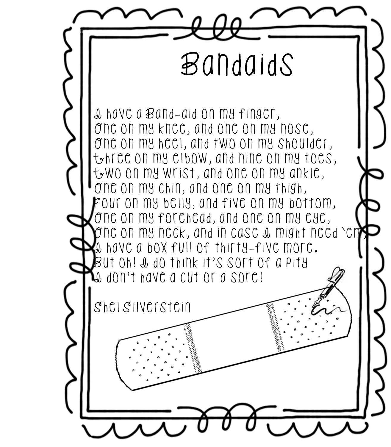 Success drawing poem. Bandaid at getdrawings com