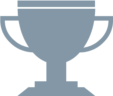 Success transparent trophy. Download hd icon for