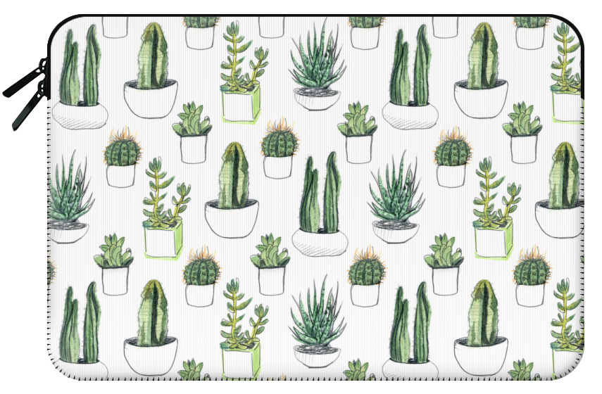 Cactus clipart minimalist. Watercolour cacti succulents girly