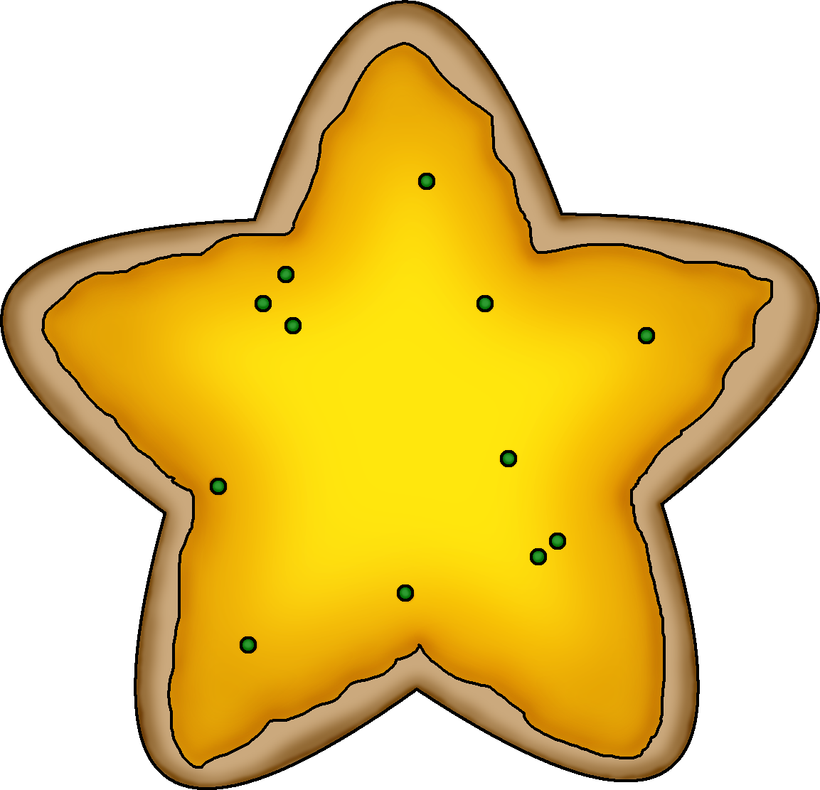 cookie clipart heart