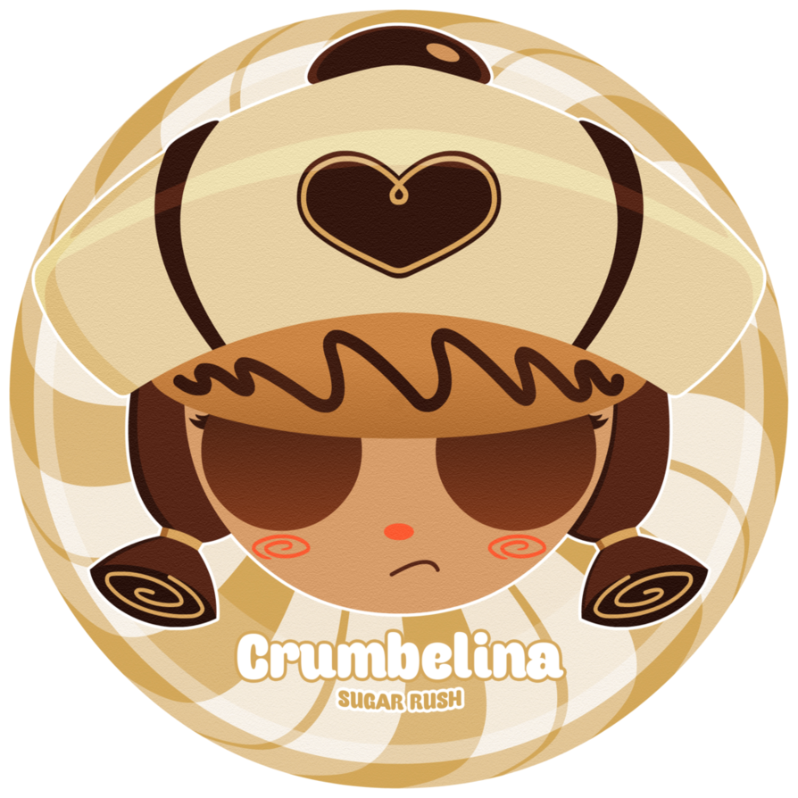 Sugar vector brown. Crumbelina by thealiencross on