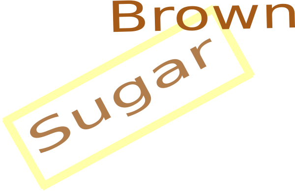 Clip art at clker. Sugar vector brown image royalty free