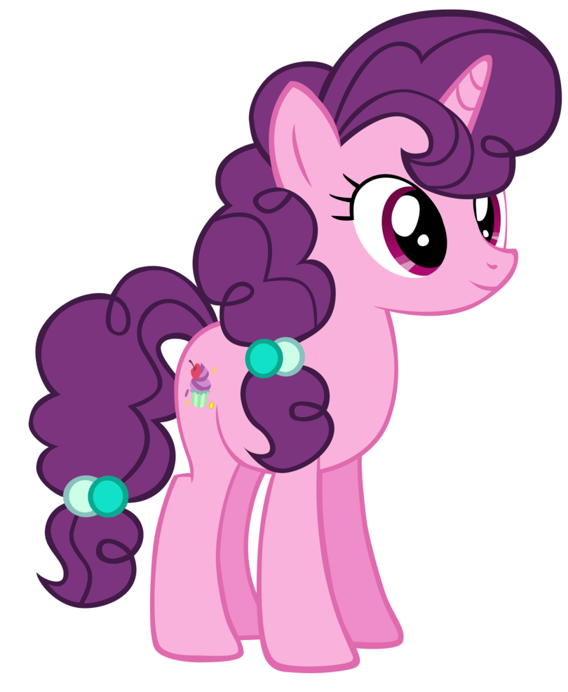Sugar my little pony. Belle vector image library