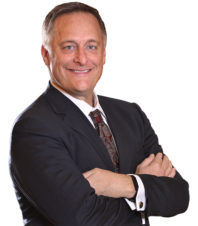 Suit arms folded png. Iowa lawyer brett trout