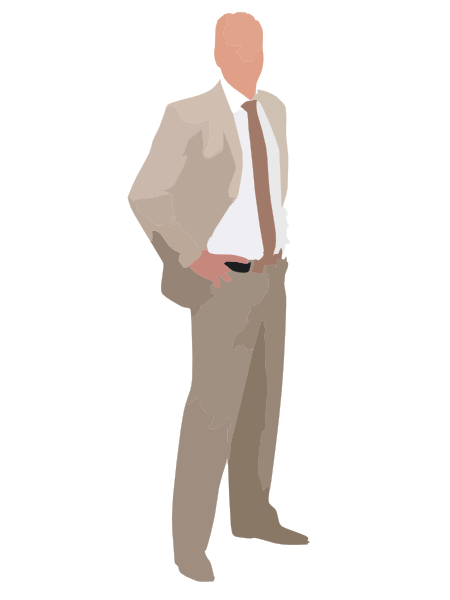 Suit clipart clip art. Business man in at