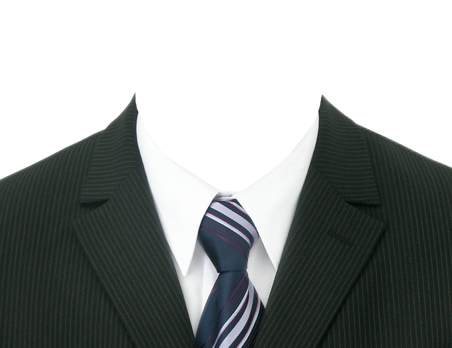 Formal attire for women png. Suit tie neck transparent