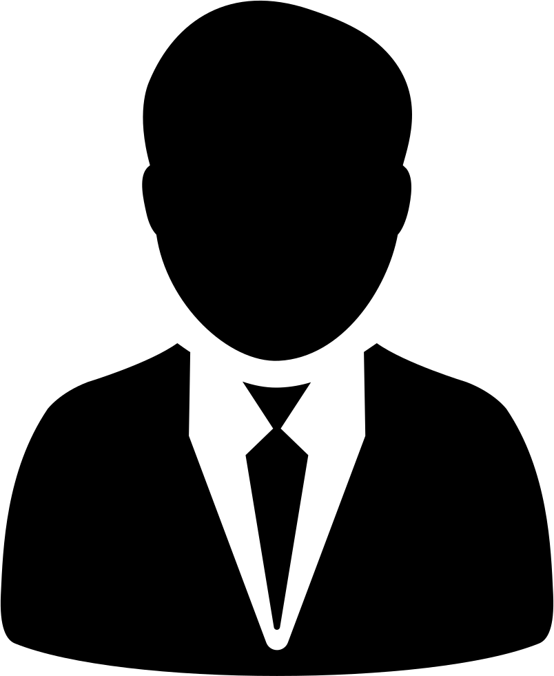 Suit icon png. Man in and tie