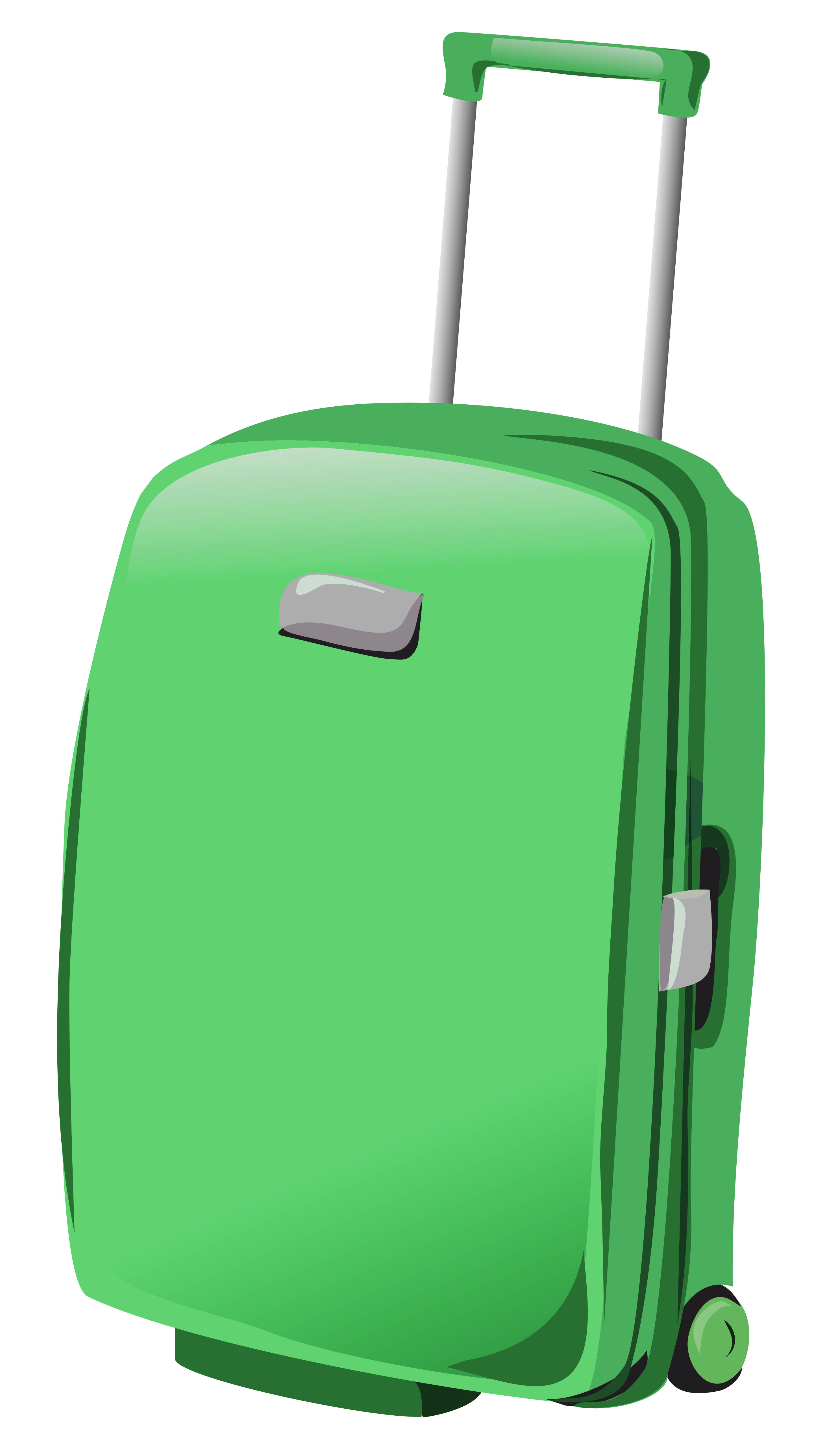 Suitcase clipart. Green png gallery yopriceville