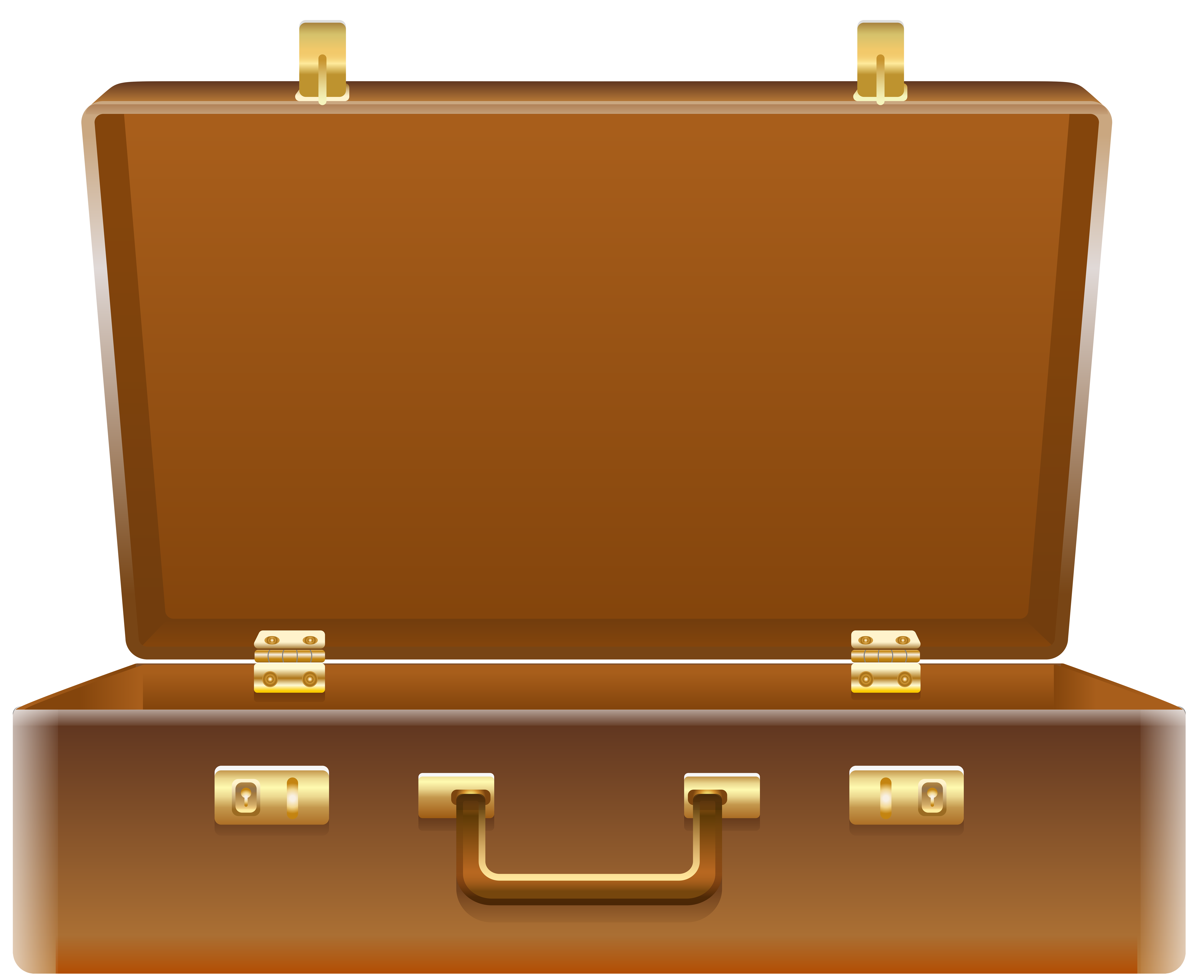 Suitcase clipart. Open png clip art jpg black and white stock