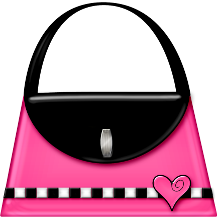 Suitcase clipart girly. Purse png logo ideas