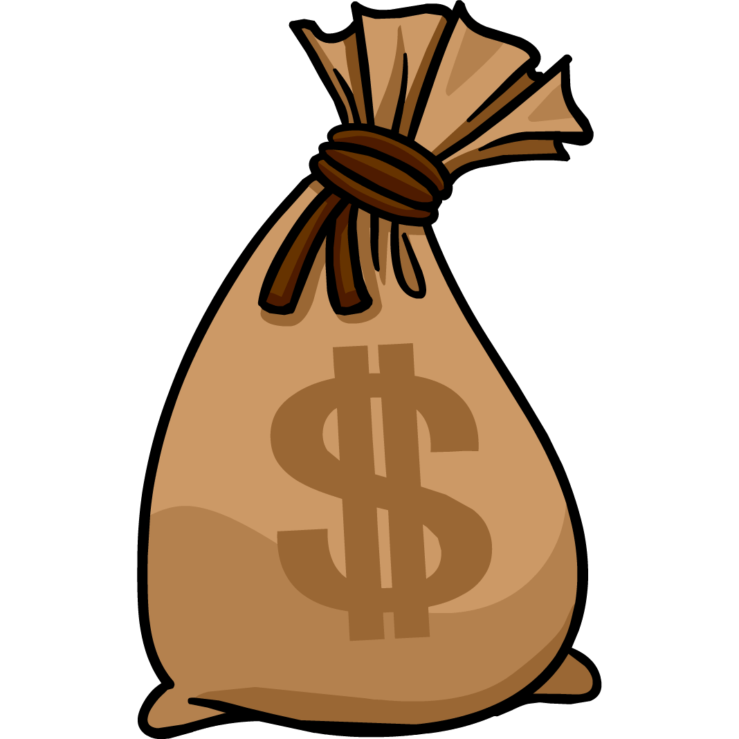 Suitcase clipart money. Bag png images transparent