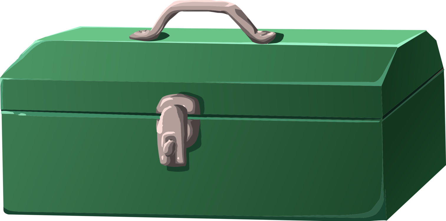 Toolbox clipart industrial art. Tool boxes chest computer