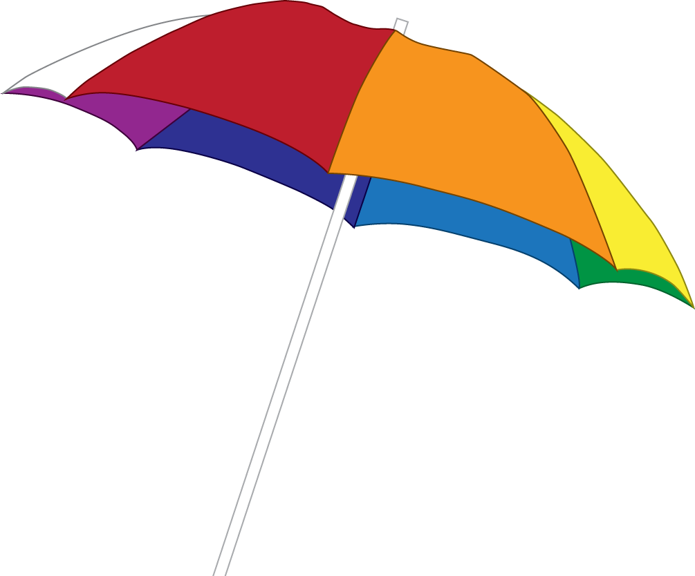 Summer beach png. Umbrella free icons and