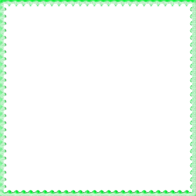 Summer border png. Transparent frame green esme