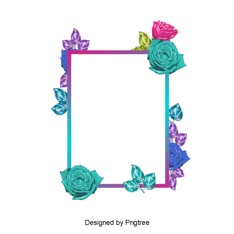Hand painted beautiful borders. Summer border png png library library