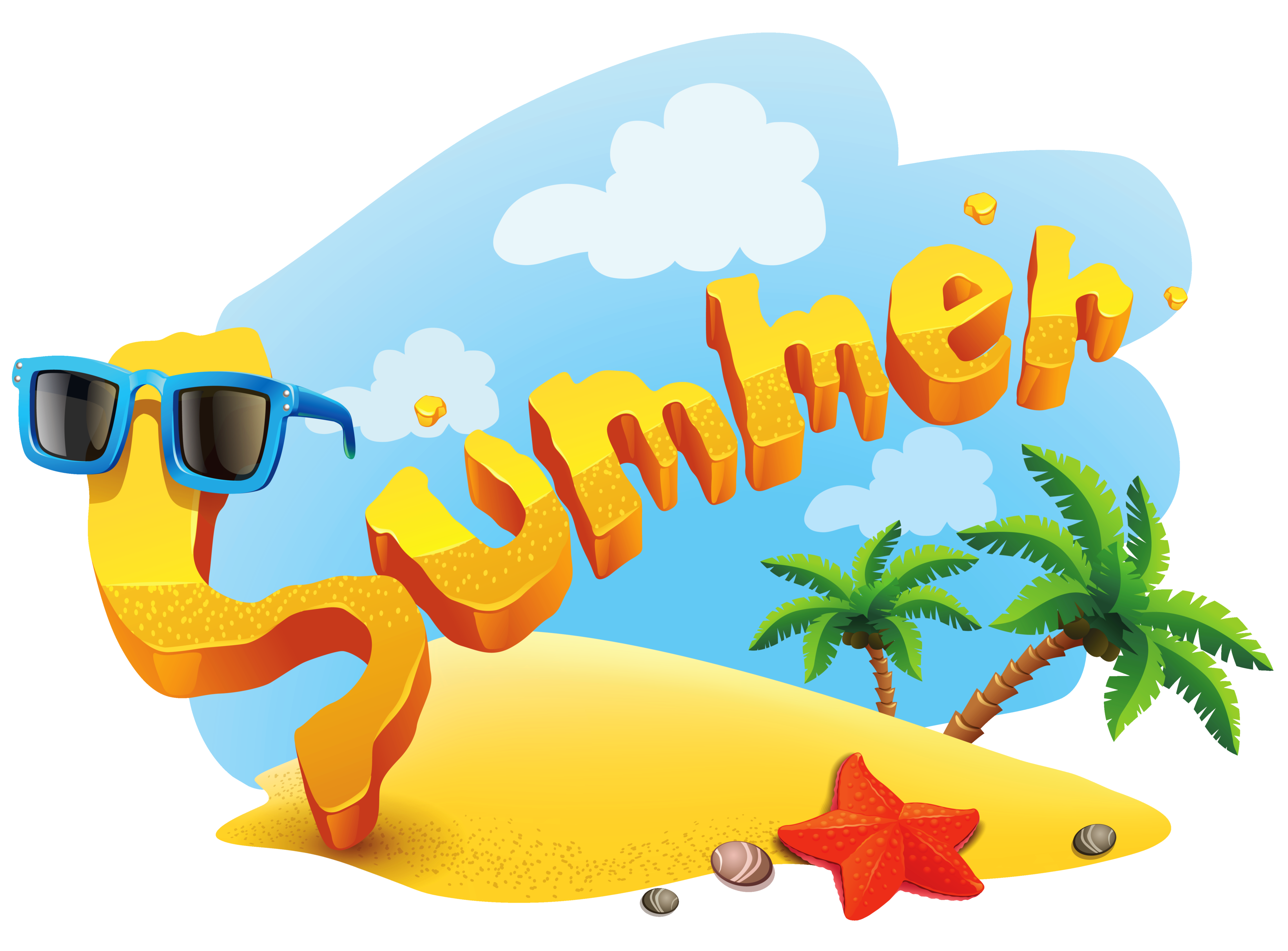 Summer clip art png. Deco picture clipart gallery