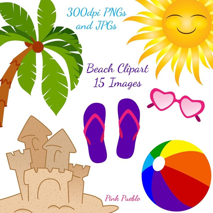 Summer clipart thing. Tropical pencil and in