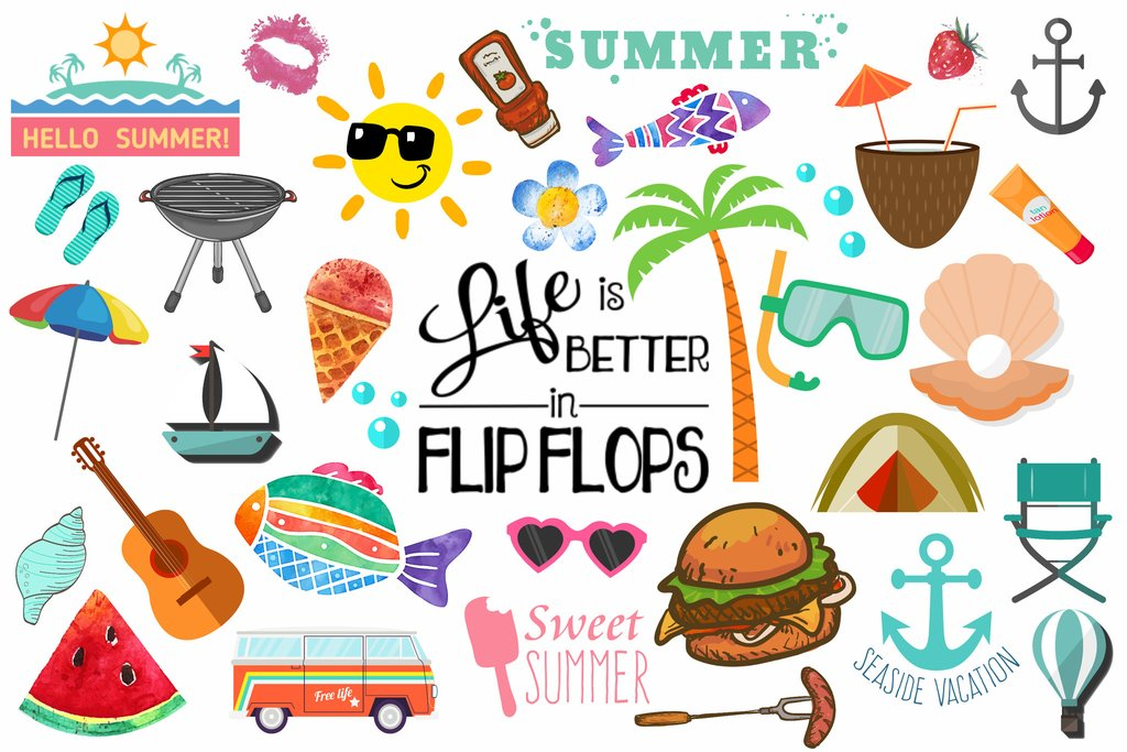Summer clipart thing. Kubis realty group as