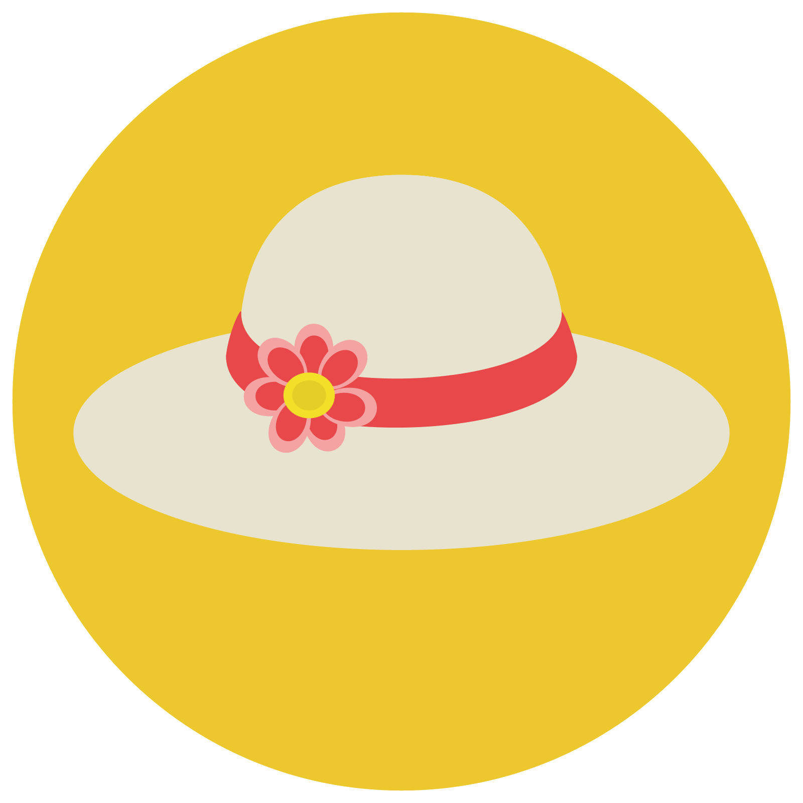 Summer png flat. Icona hat download gratuito