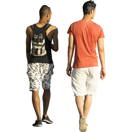 Summer people png. These two guys in