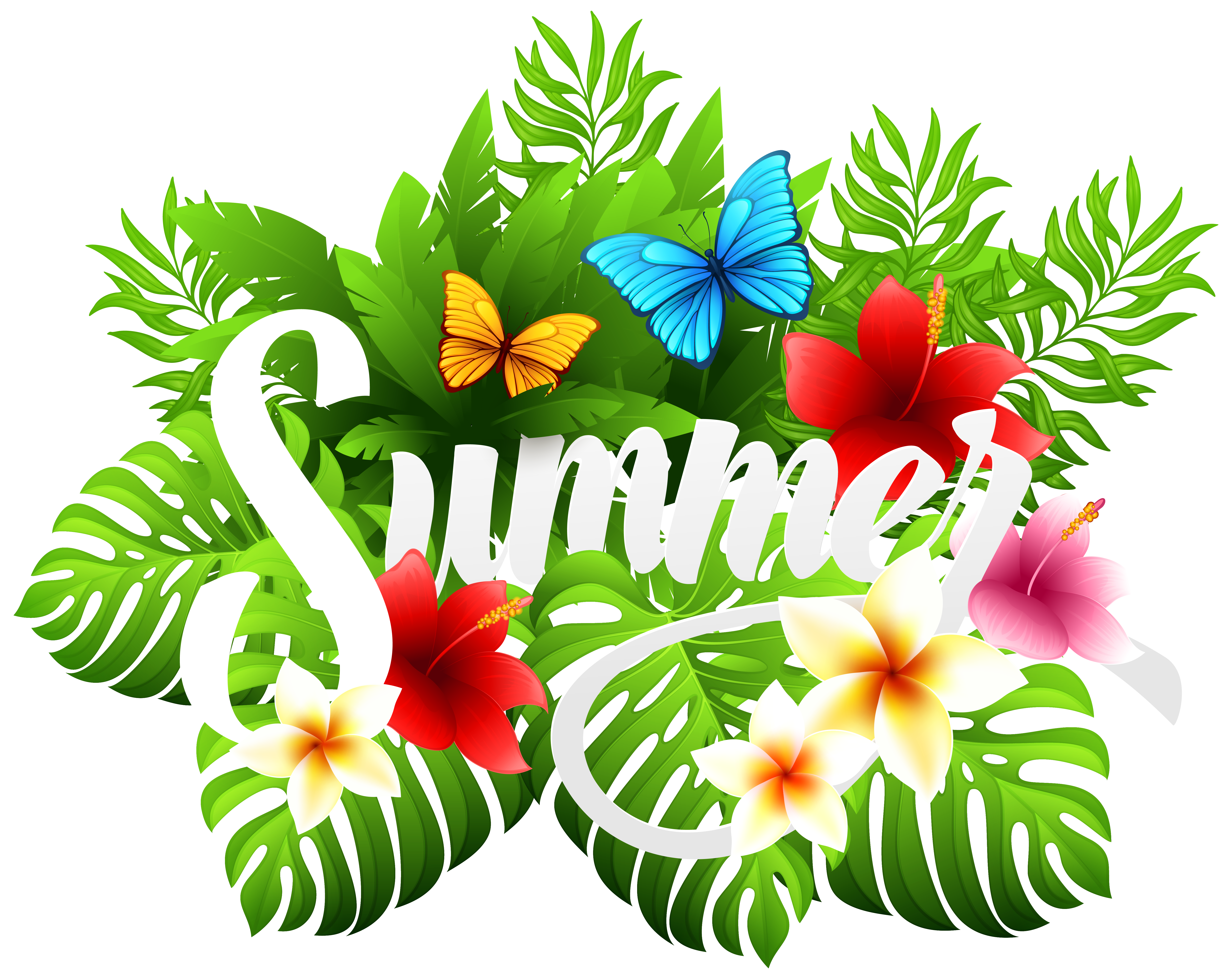 Summer png clipart. Decorative image gallery yopriceville