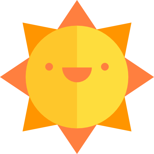 Summer png flat. Gold icon svg