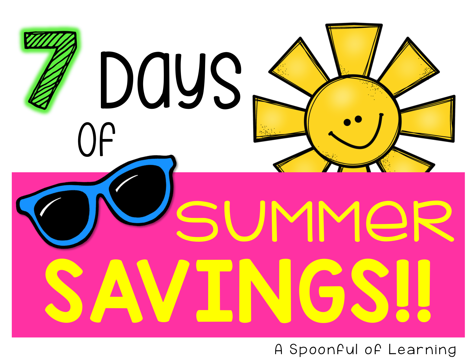 Summer savings png. A spoonful of learning