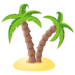 Summer tree png. Holiday palm px icon