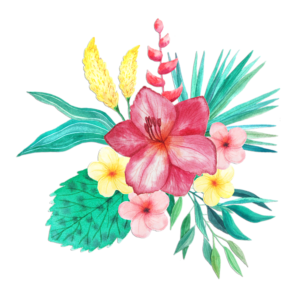 Tropical png. Art edit tumblr sticker