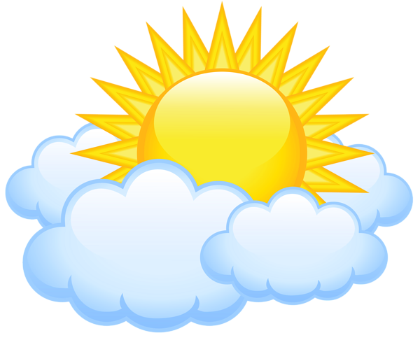 Sun and clouds clipart png. At getdrawings com free