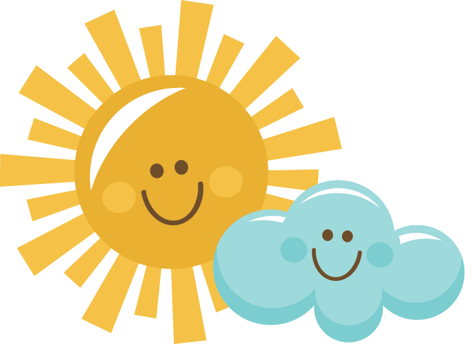 Sun and clouds clipart png. Happy cloud svg scrapbook