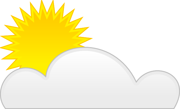 Sun and clouds clipart png. Cloud clip art at