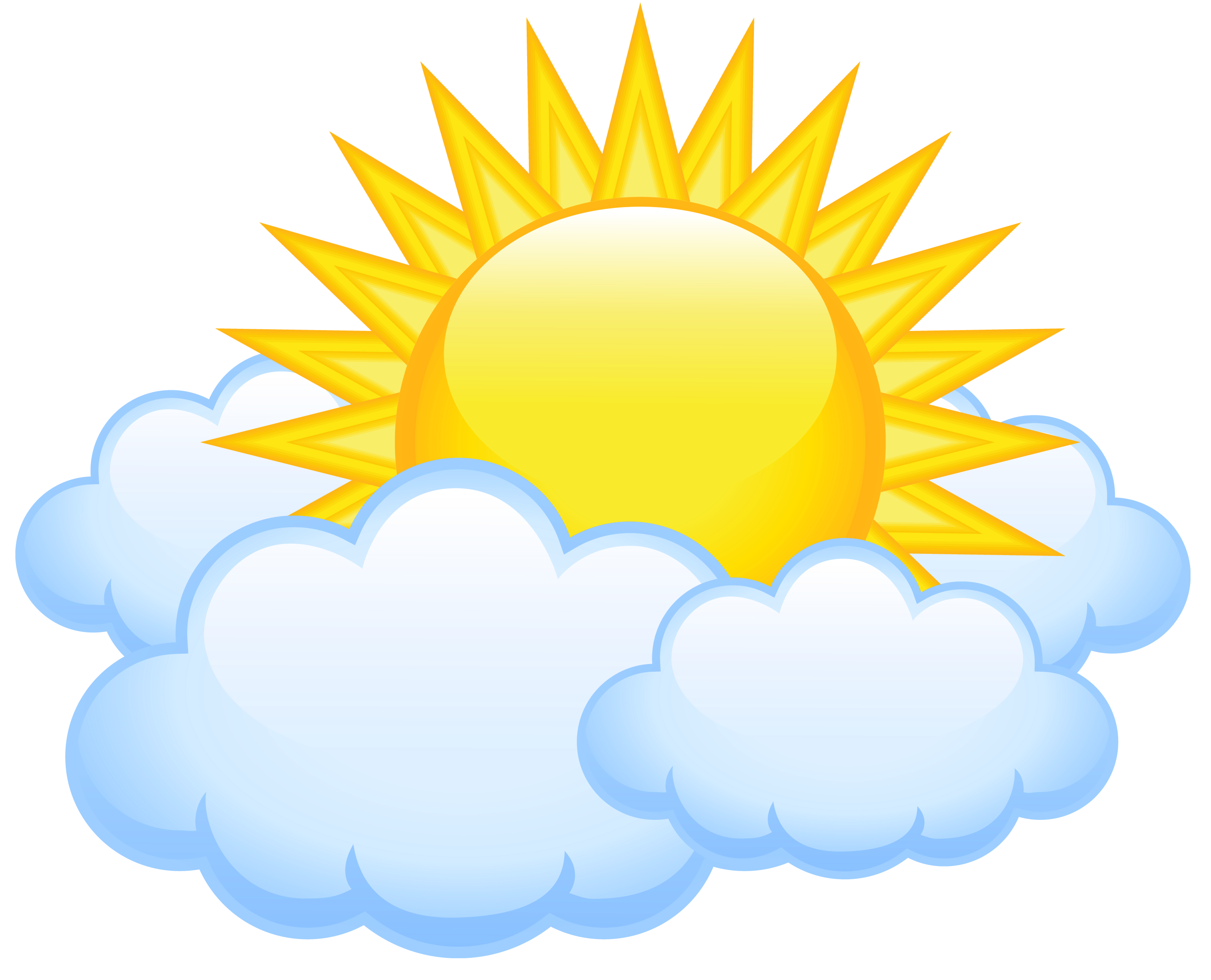 Sun and clouds clipart png. With transparent picture gallery
