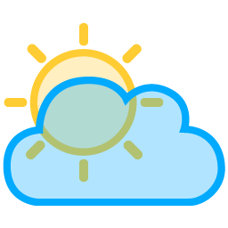 Sun and clouds png. Image