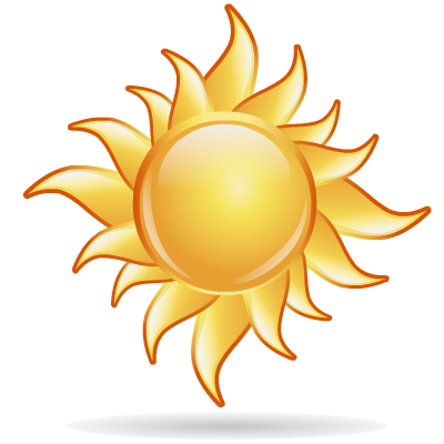Sun icon clipart iconbug. Png image format image transparent library
