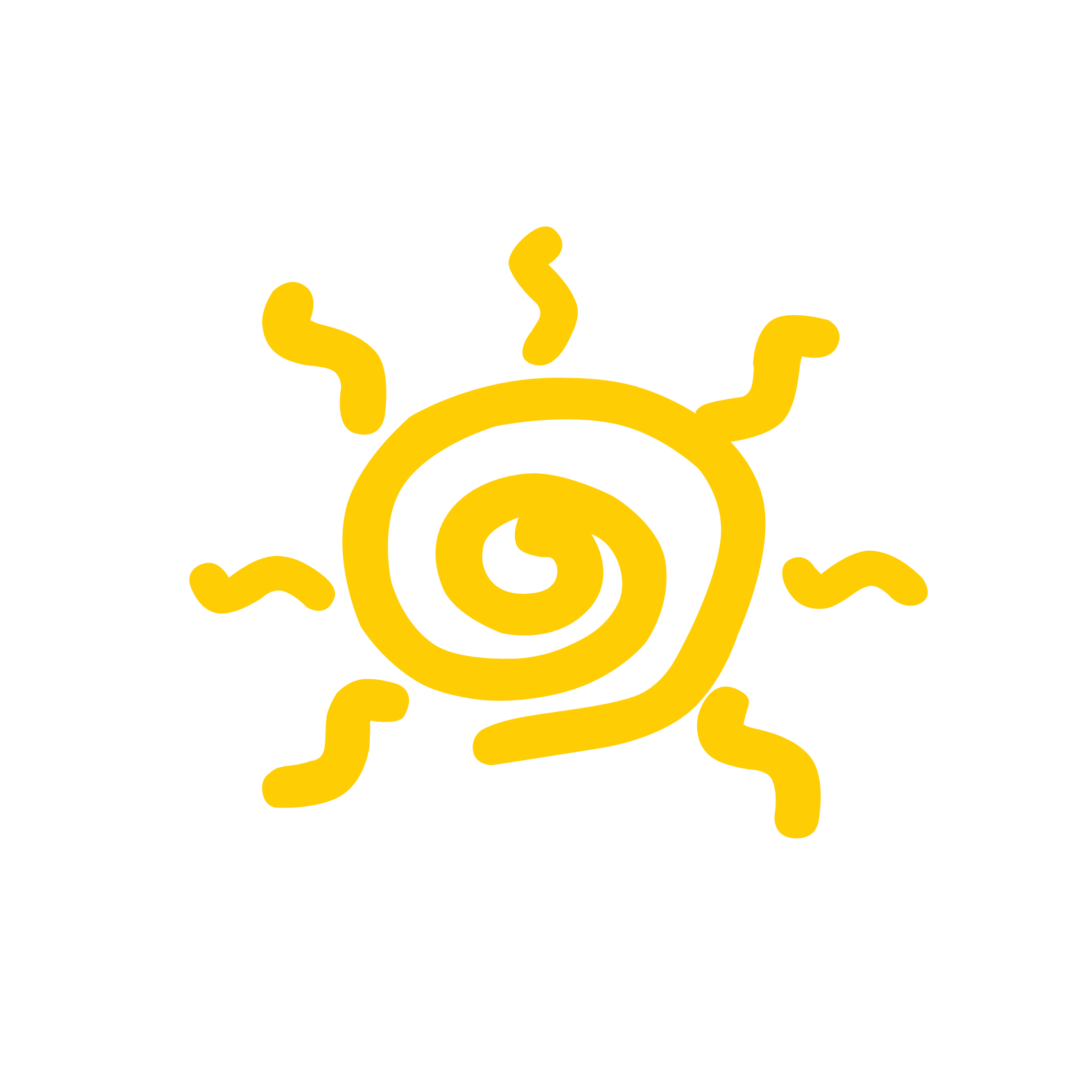 Sun cartoon png. Yellow drawing clip art