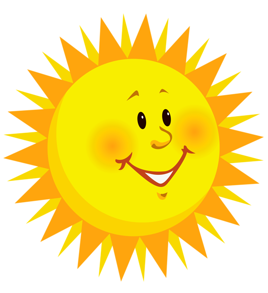 Transparent smiling sun clipart. Sol dibujo png vector library