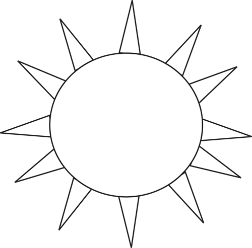 Sun Black And White Transparent Png Clipart Free Download Ywd