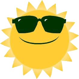 Sun clipart summer. Panda free images