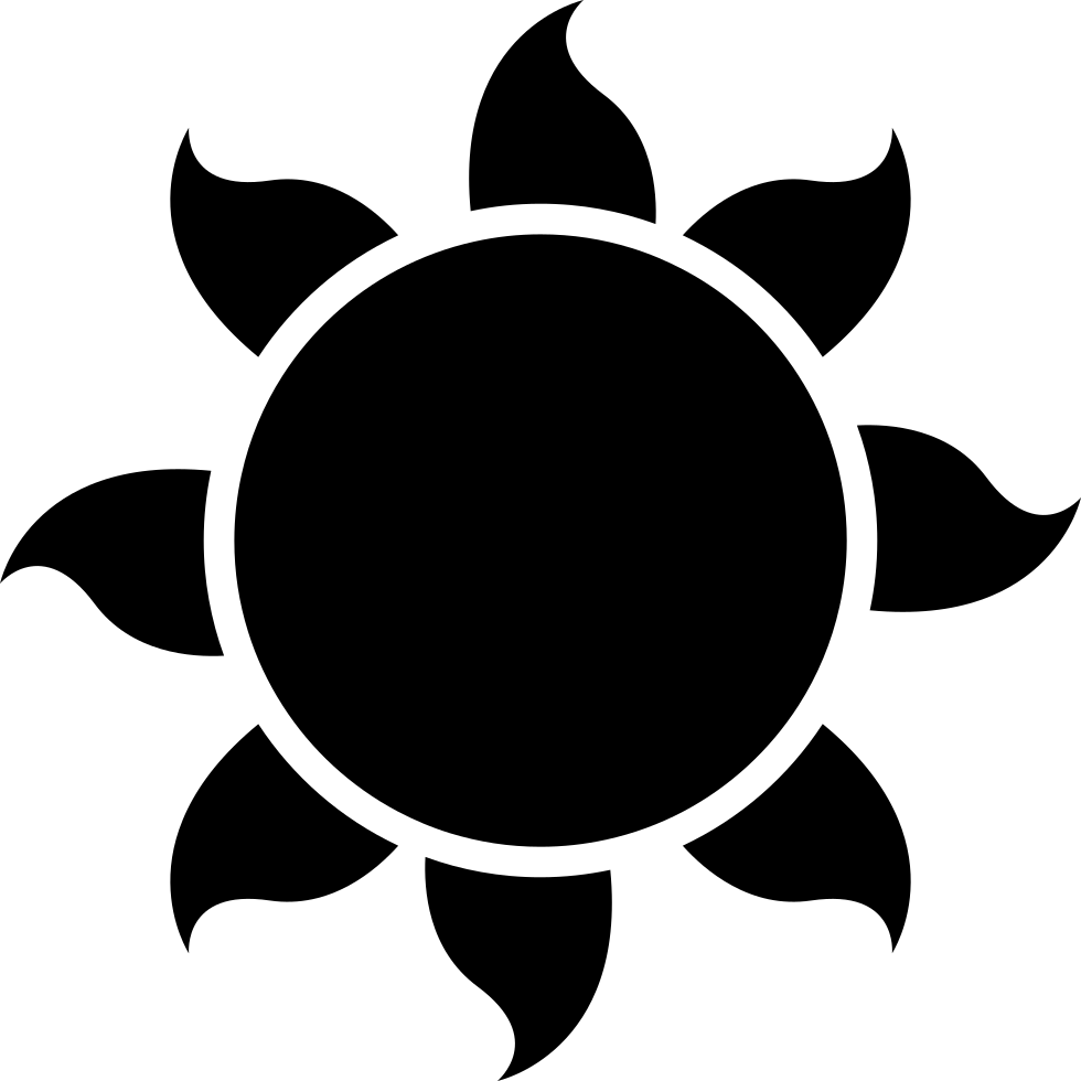 And svg shape. Sun png icon free