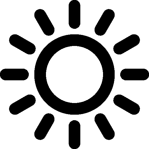 Sun silhouette png. Icons vector free and