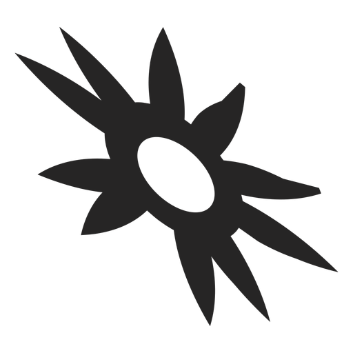 Tribal transparent sun. Icon png svg vector