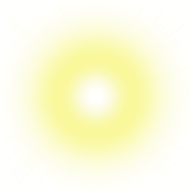 Sun with glare png. Light halo transprent free