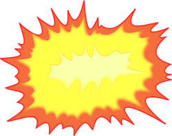 Shatter vector explosion. Clip arts free clipart