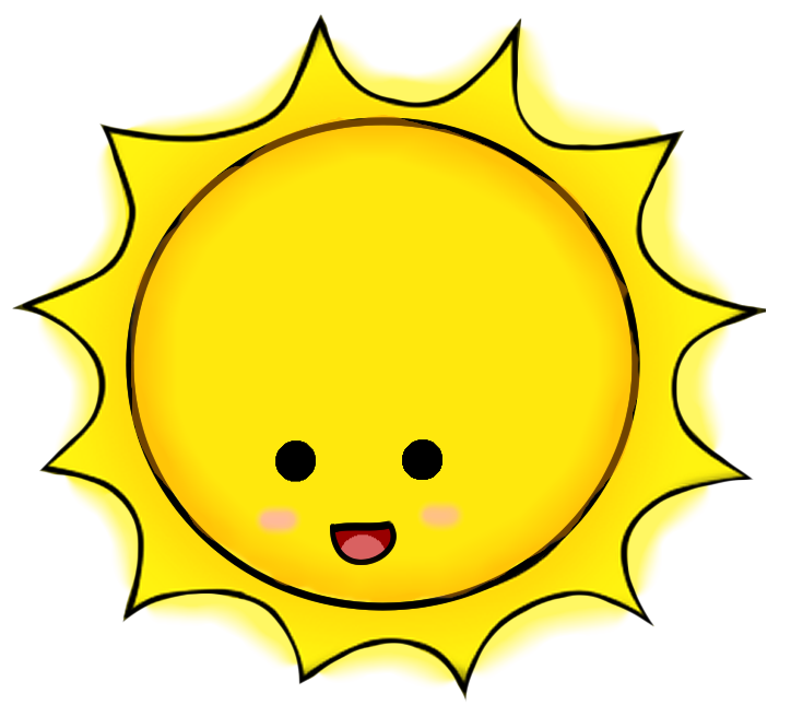 Sunburst clipart transparent. Sunbeam at getdrawings com