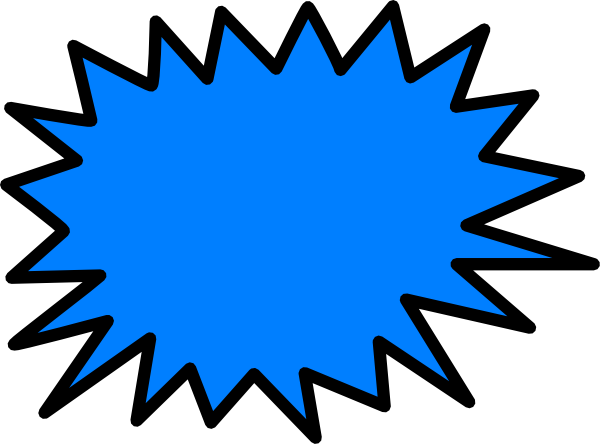 Sunburst vector png. Blue clip art at