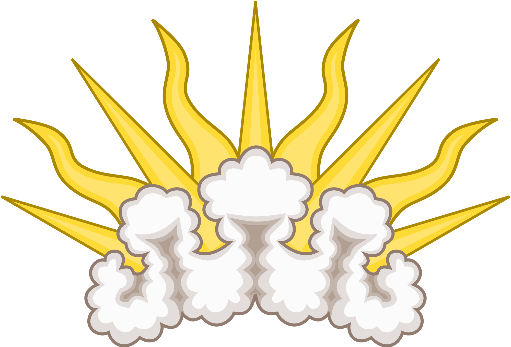 Sunburst vector png. File badge svg wikimedia