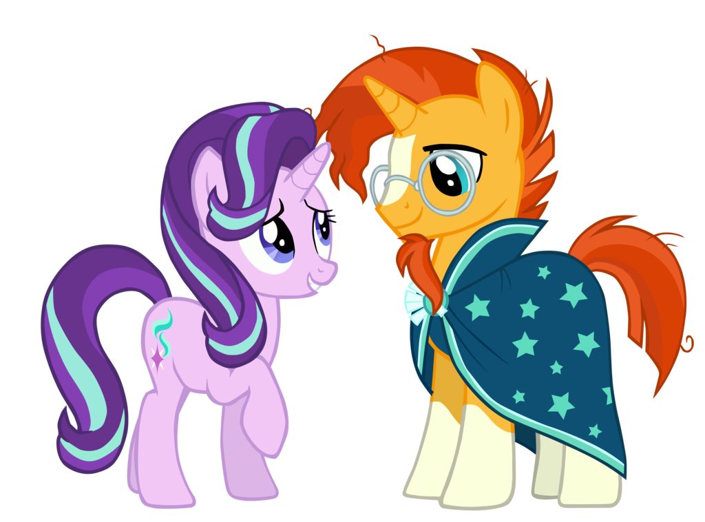 Sunburst vector png. Starlight glimmer and mlp